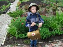 Στρατιώτες παιδιών Στοκ Εικόνες