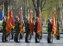 στρατιώτες σημαιών Στοκ Φωτογραφίες