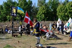 Στρατιώτες στρατόπεδων προετοιμασία Στοκ φωτογραφίες με δικαίωμα ελεύθερης χρήσης