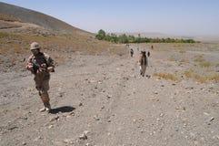 στρατιώτες του Αφγανιστάν Στοκ εικόνα με δικαίωμα ελεύθερης χρήσης