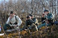 Στρατιώτες του στρατού του Χίτλερ s Στοκ Φωτογραφία