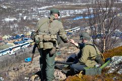 Στρατιώτες του στρατού του Χίτλερ s Στοκ Εικόνα
