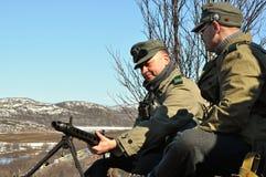 Στρατιώτες του στρατού του Χίτλερ s Στοκ εικόνα με δικαίωμα ελεύθερης χρήσης