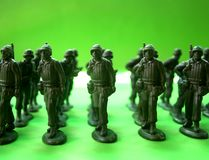 στρατιώτες 1 κατάταξης Στοκ φωτογραφίες με δικαίωμα ελεύθερης χρήσης
