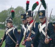 Στρατιώτες Napoleon Στοκ φωτογραφίες με δικαίωμα ελεύθερης χρήσης