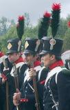 Στρατιώτες Napoleon Στοκ φωτογραφία με δικαίωμα ελεύθερης χρήσης