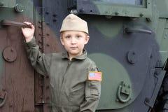 στρατιώτης αγοριών Στοκ Φωτογραφία