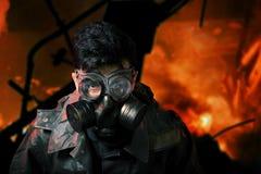 Στρατιώτης αποκάλυψης Στοκ φωτογραφία με δικαίωμα ελεύθερης χρήσης