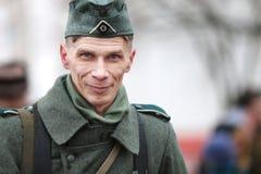 Στρατιώτης γερμανικά του δεύτερου παγκόσμιου πολέμου Στοκ εικόνα με δικαίωμα ελεύθερης χρήσης