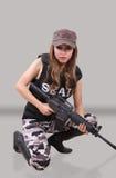 Στρατιώτης γυναικών Στοκ Φωτογραφίες
