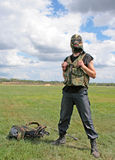στρατιώτης δύναμης ειδικό&s στοκ εικόνες