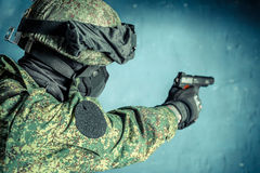 Στρατιώτης ειδικής δύναμης Στοκ Εικόνες