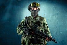 Στρατιώτης ειδικής δύναμης Στοκ φωτογραφίες με δικαίωμα ελεύθερης χρήσης