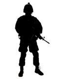 στρατιώτης εμείς Στοκ εικόνα με δικαίωμα ελεύθερης χρήσης