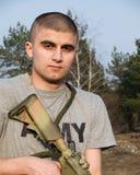 στρατιώτης ΗΠΑ Στοκ εικόνα με δικαίωμα ελεύθερης χρήσης