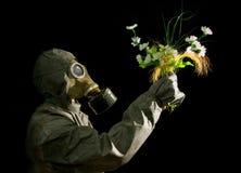 στρατιώτης λουλουδιών Στοκ εικόνες με δικαίωμα ελεύθερης χρήσης