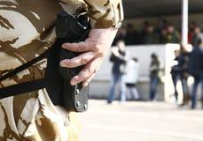 στρατιώτης παρελάσεων Στοκ Εικόνα