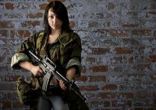Στρατιώτης πολιτών Στοκ εικόνες με δικαίωμα ελεύθερης χρήσης