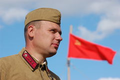 στρατιώτης σοβιετικός Στοκ φωτογραφία με δικαίωμα ελεύθερης χρήσης