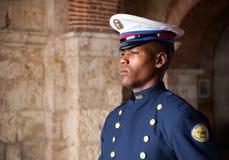Στρατιώτης στη φρουρά σε Santo Domingo Στοκ εικόνες με δικαίωμα ελεύθερης χρήσης