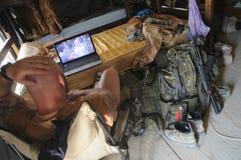 Στρατιώτης στο Αφγανιστάν Στοκ Εικόνες