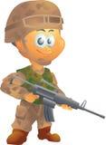 Στρατιώτης στρατού Στοκ Φωτογραφίες