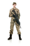 Στρατιώτης του ΝΑΤΟ. Στοκ Εικόνες