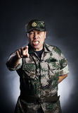 0 στρατιώτης Στοκ εικόνες με δικαίωμα ελεύθερης χρήσης