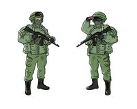 στρατιώτης Στοκ Εικόνες