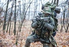 Στρατιώτης Jagdkommando Στοκ εικόνες με δικαίωμα ελεύθερης χρήσης
