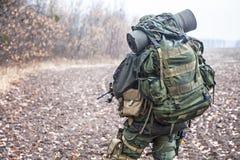 Στρατιώτης Jagdkommando Στοκ Εικόνες