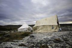 Στρατοπέδευση στο tundra2 Στοκ Εικόνες