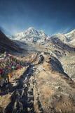 Στρατόπεδο βάσεων Annapurna στο Νεπάλ Στοκ φωτογραφία με δικαίωμα ελεύθερης χρήσης