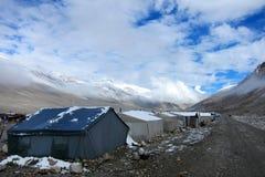 Στρατόπεδο βάσεων Everst στο Θιβέτ στοκ φωτογραφίες με δικαίωμα ελεύθερης χρήσης