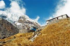 στρατόπεδο Νεπάλ βάσεων annapurna Στοκ Φωτογραφίες