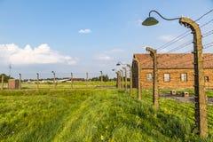 Στρατόπεδο συγκέντρωσης II†«Birkenau Auschwitz σε Oswiecim, Πολωνία Στοκ εικόνες με δικαίωμα ελεύθερης χρήσης