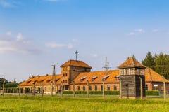 Στρατόπεδο συγκέντρωσης II†«Birkenau Auschwitz σε Oswiecim, Πολωνία Στοκ φωτογραφία με δικαίωμα ελεύθερης χρήσης