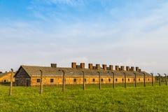 Στρατόπεδο συγκέντρωσης II†«Birkenau Auschwitz σε Oswiecim, Πολωνία Στοκ Εικόνες
