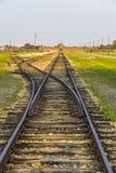 Στρατόπεδο συγκέντρωσης II†«Birkenau Auschwitz σε Oswiecim, Πολωνία Στοκ Φωτογραφία