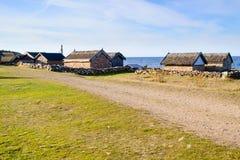 Στρατόπεδο αλιείας Bruddesta Στοκ Φωτογραφία