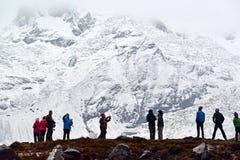 Στρατόπεδο βάσεων Annapurna, Νεπάλ Στοκ εικόνα με δικαίωμα ελεύθερης χρήσης
