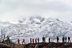 Στρατόπεδο βάσεων Annapurna, Νεπάλ Στοκ Εικόνες