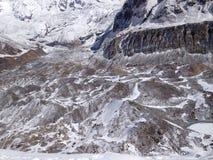 Στρατόπεδο βάσεων Annapurna στο Νεπάλ Ιμαλάια Στοκ εικόνα με δικαίωμα ελεύθερης χρήσης