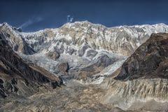 Στρατόπεδο βάσεων Annapurna στο Νεπάλ Στοκ Εικόνα