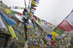 Στρατόπεδο βάσεων Annapurna Στοκ φωτογραφία με δικαίωμα ελεύθερης χρήσης