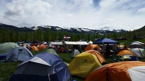 Στρατόπεδο βάσεων Ragnar Στοκ Φωτογραφία