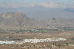 Στρατόπεδο προσφύγων Mohmand στοκ φωτογραφίες με δικαίωμα ελεύθερης χρήσης