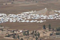 Στρατόπεδο προσφύγων Mohmand στοκ φωτογραφίες
