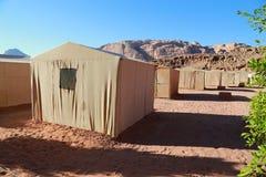 Στρατόπεδο στο ρούμι Wadee Στοκ φωτογραφίες με δικαίωμα ελεύθερης χρήσης