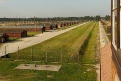 Στρατόπεδο συγκέντρωσης Auschwitz Birkenau Στοκ Εικόνα